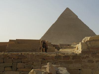 Las Pirámides de Giza en El Cairo