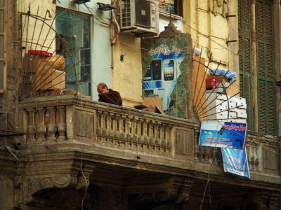 Una habitual vista de El Cairo