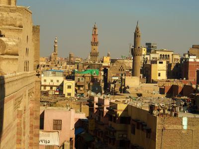 La ciudad plagada de mezquitas