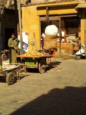 Los puestos de fruta de El Cairo