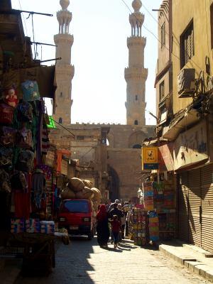 El mercado de El Cairo