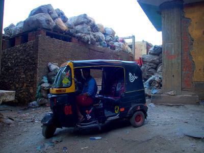 Un tic tuc en la ciudad de la basura de El Cairo