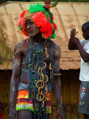 El Carnaval de Bisau es insuperable