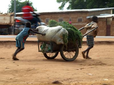 Niños en la República de Benin