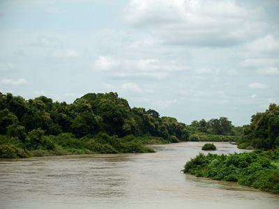 Un río en Benin