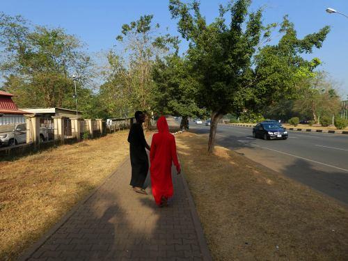 Una calle de Abuja