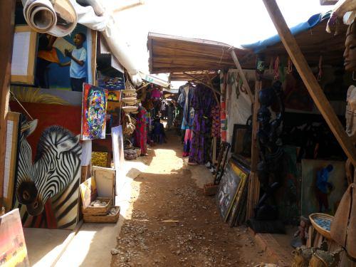 Mercadillo de artesanos en Abuja