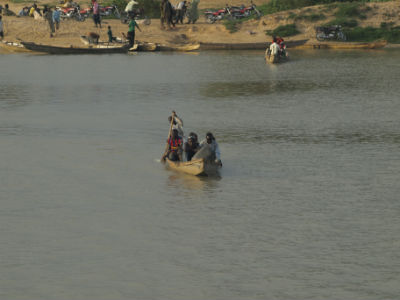 El Lago Chad camino de la isla de Kofia