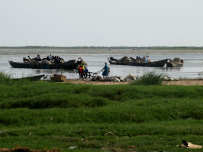 La isla de Kofia en el Lago Chad