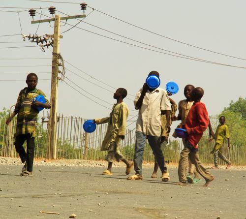 Niños de la calle en Kano Nigeria