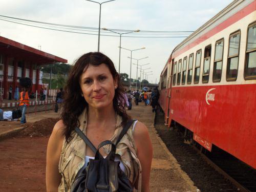 En la estación de Yaoundé en Camerún