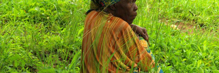 Una anciana en Ngaounderé