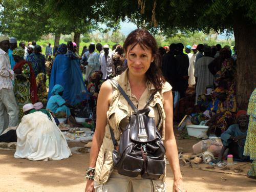En el mercado de los borrachos en Camerun