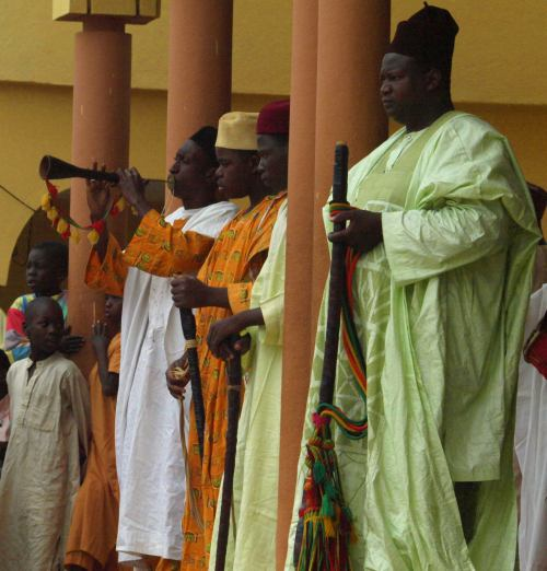 Los músicos del lamido de Ngaoundere