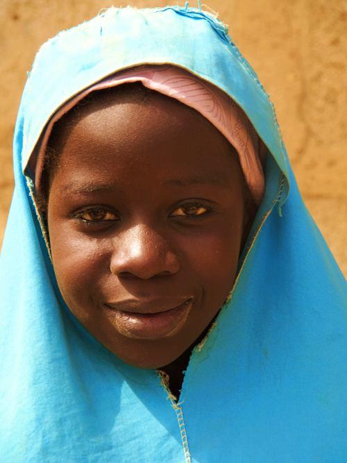 Una niña en Abuja