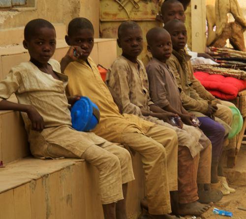 Un grupo de almayies en Kano