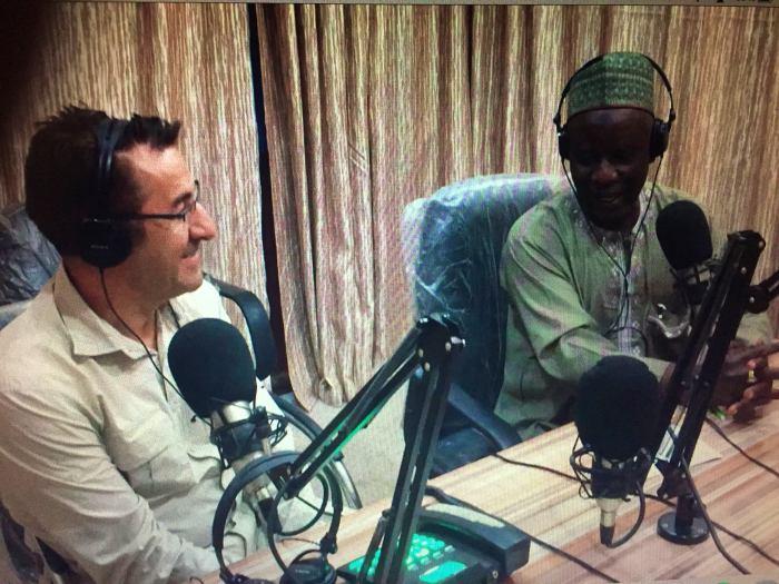 Entrevista en Kano Radio