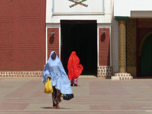 Entrada al Palacio del Emir de Kano