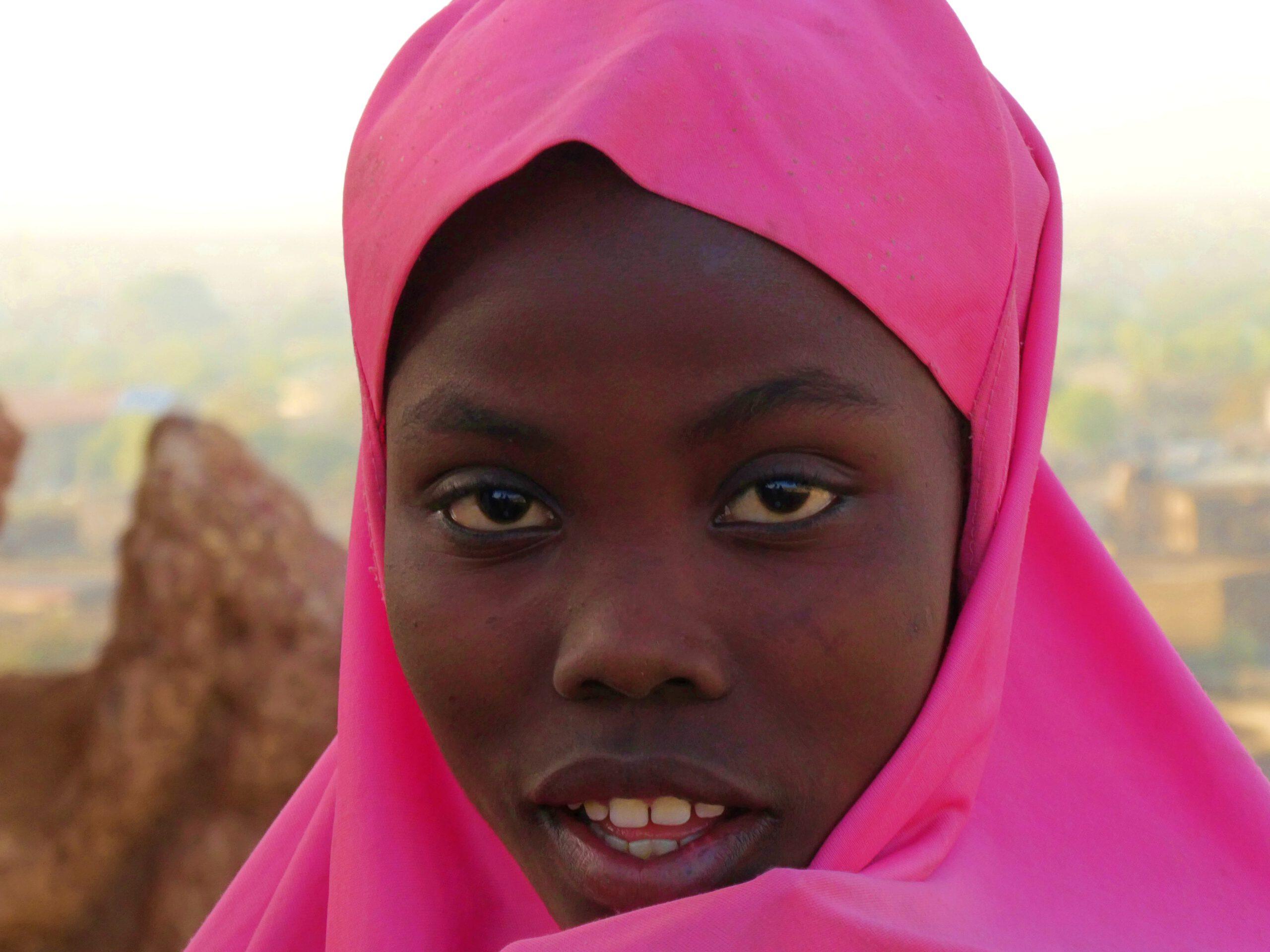 Una chica de Kano
