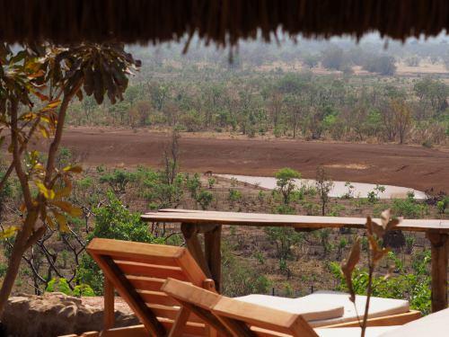 El resort de la Pentair (Benin) y su charca