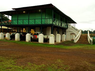 Sampaka casa principal de la plantación