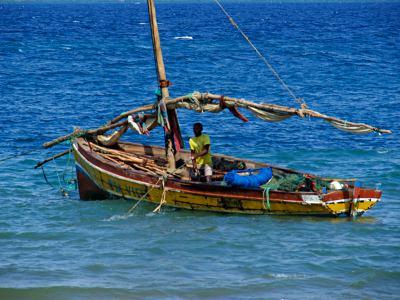 Pescadores en Paquitequete