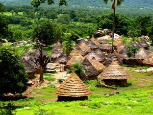Un poblado Bassari