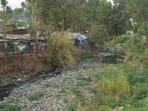 Terribles contrastes en Addis