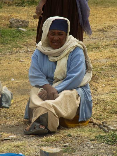 Una mujer en la misión del padre