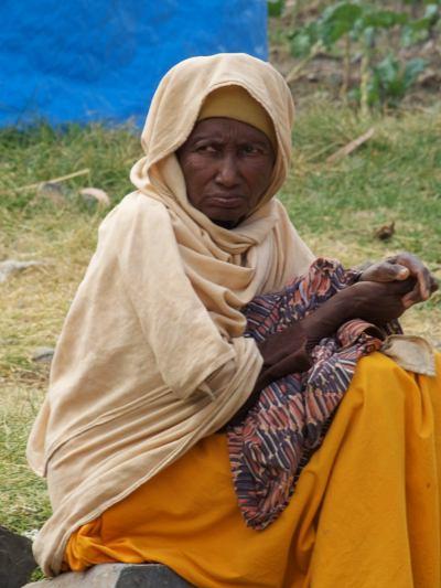Una mujer en la misión del padre Awa