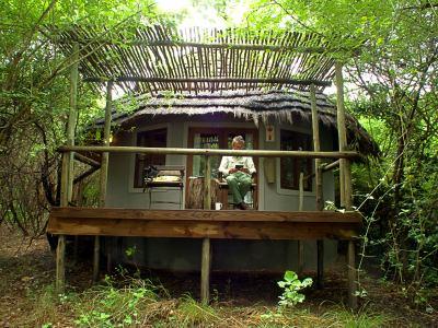 Nuestra choza en Bakwena Lodge