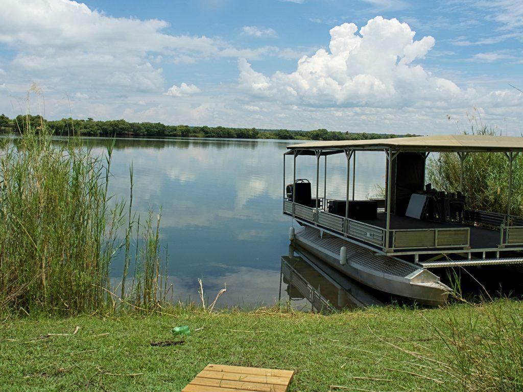 El río Chobe desde nuestro logde