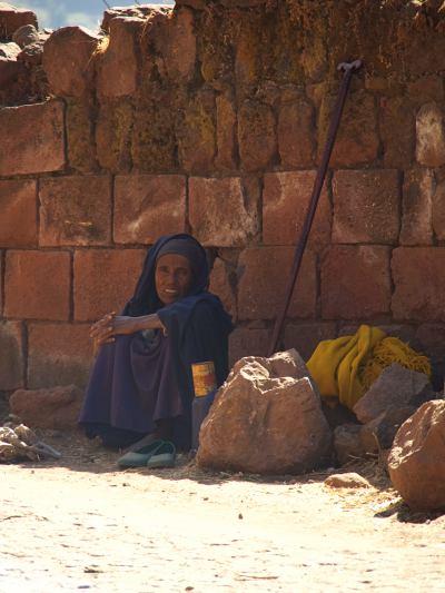 Una mujer en la calle