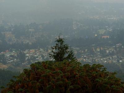 Addis desde el Monte Entoto