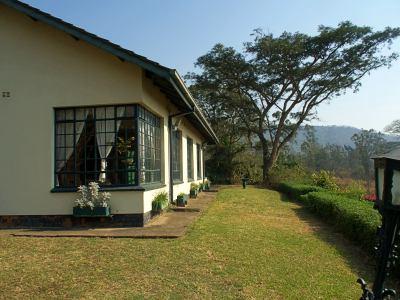 The hotel Inn on the Vumba