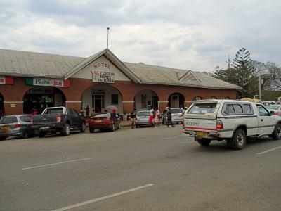 The old Victoria Hotel de Masvingo