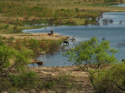 El Lago Kyle en Zimbabue