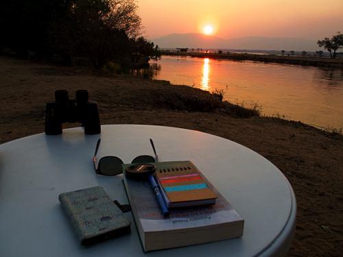Atardecer en el Zambeze