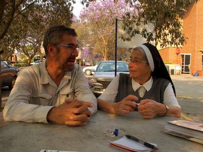 La hermana Angela en Harare
