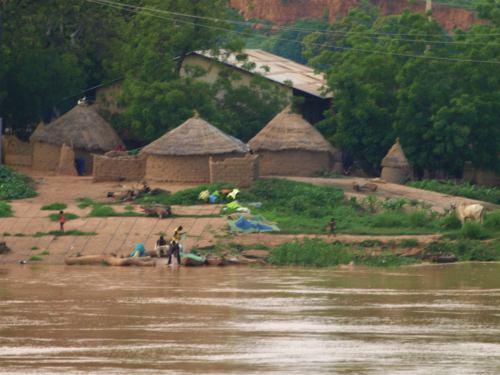 Una pequeña village de Benin