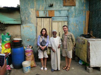 Con el imán de Yaba en Nigeria