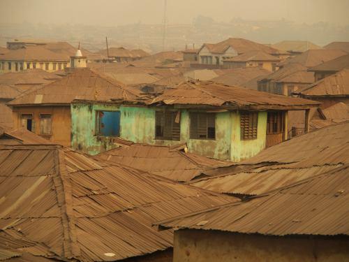Unas casas maravillosas en Ibadan Nigeria