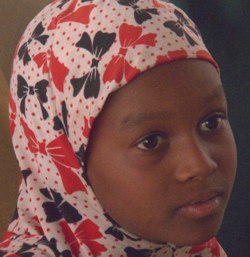 Una niña de Maiduguri