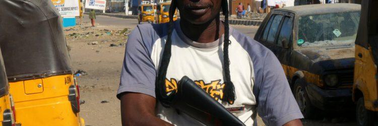 Un paramilitar de Maiduguri