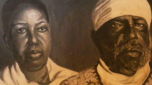Taitu y Melenik II emperadores de Etiopía