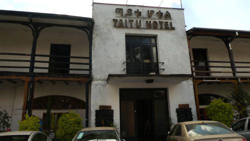 El Hotel Taitu en Adis Abeba