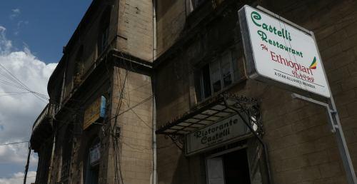 Castelli's Restaurant en Adis Abeba
