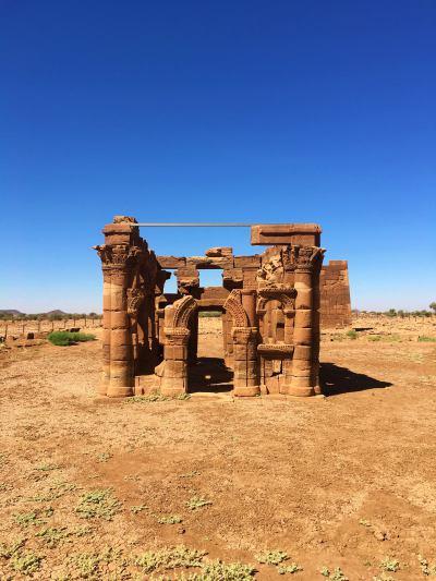 El Kiosko romano en Naga (Sudán)