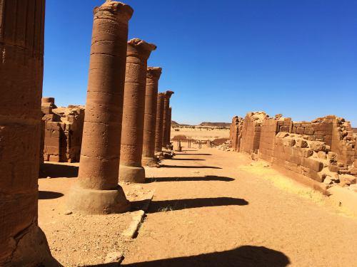 Tesoros arqueológicos en Sudán