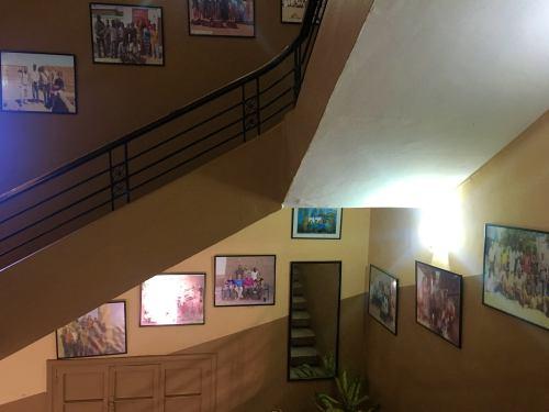 Interior del Hotel Acropole de Khartoum (Jartum)